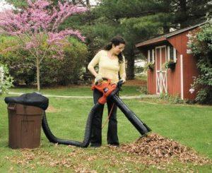 Soffiatore aspiratore elettrico black decker gw3050 qs for Sac pour feuilles mortes